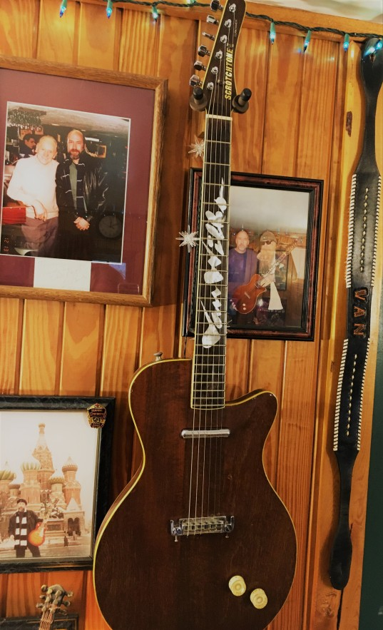 Van Wilks ZZ Top guitar
